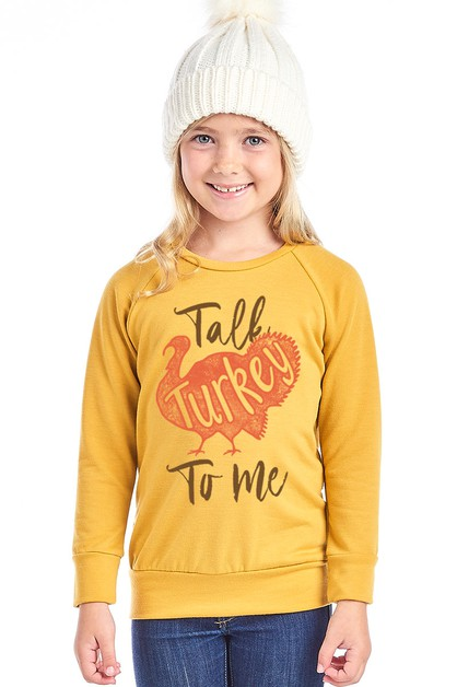 KID GRAPHIC FRENCH TERRY LONG SLEEVE - orangeshine.com
