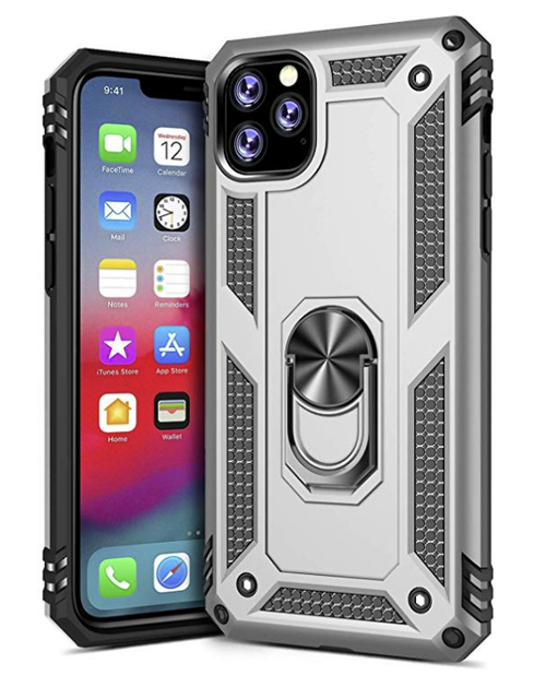 IPhone 11 Pro -Army Shield Stand  - orangeshine.com