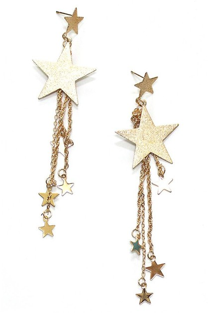 Star stud earrings - orangeshine.com