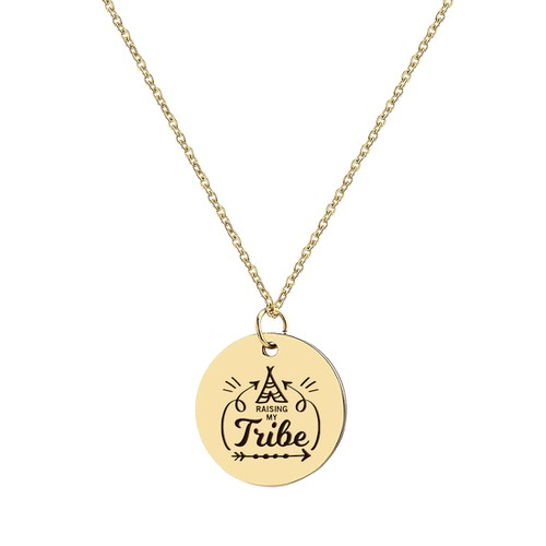 RAISING MY TRIBE NECKLACE - orangeshine.com