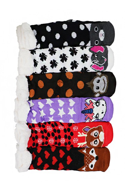 Fleece Socks - orangeshine.com