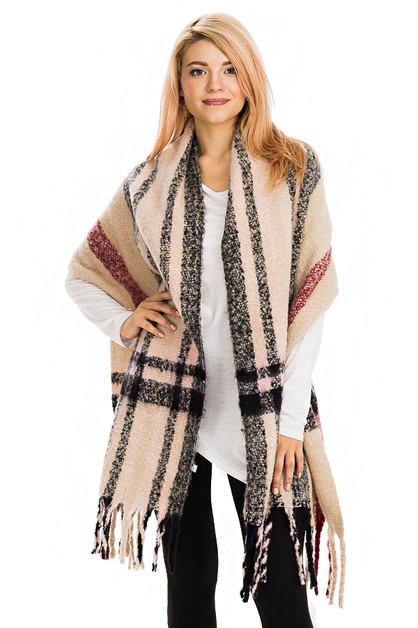 Jumbo thick scarves - orangeshine.com