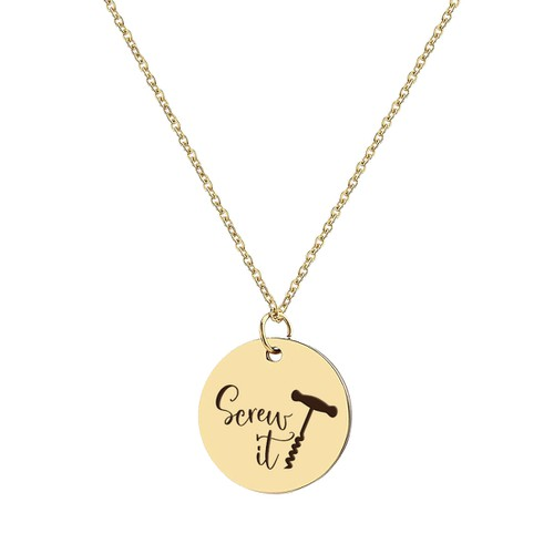 SCREW IT NECKLACE - orangeshine.com