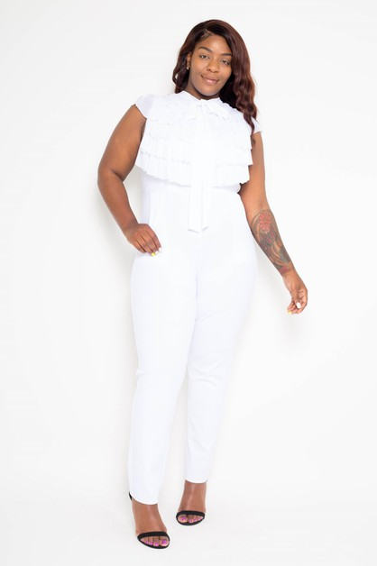 Plus size Womens Party Jumpsuit - orangeshine.com
