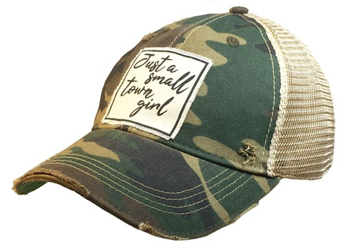 Just A Small Town Girl Trucker Hat - orangeshine.com