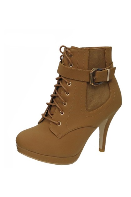 Stiletto Pointed Toe Dress Booties - orangeshine.com