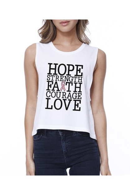 JCR297XX Hope Strength Faith Courage - orangeshine.com