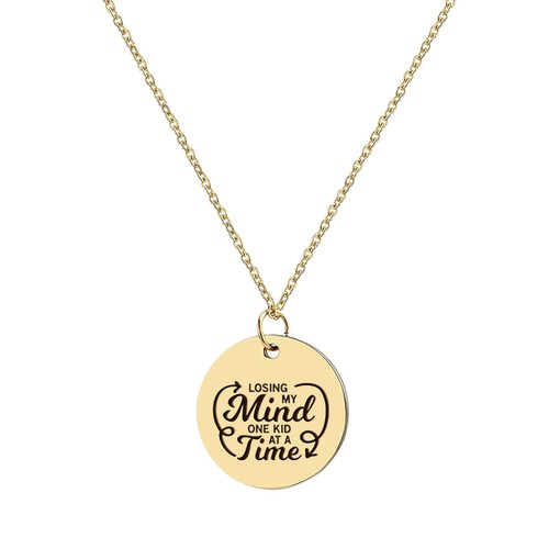 LOSING MY MIND NECKLACE - orangeshine.com