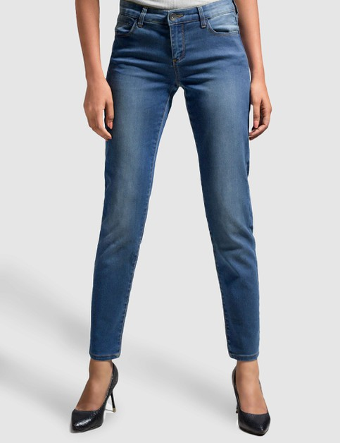 Womens Stretch Denim Pants Slim Fit - orangeshine.com