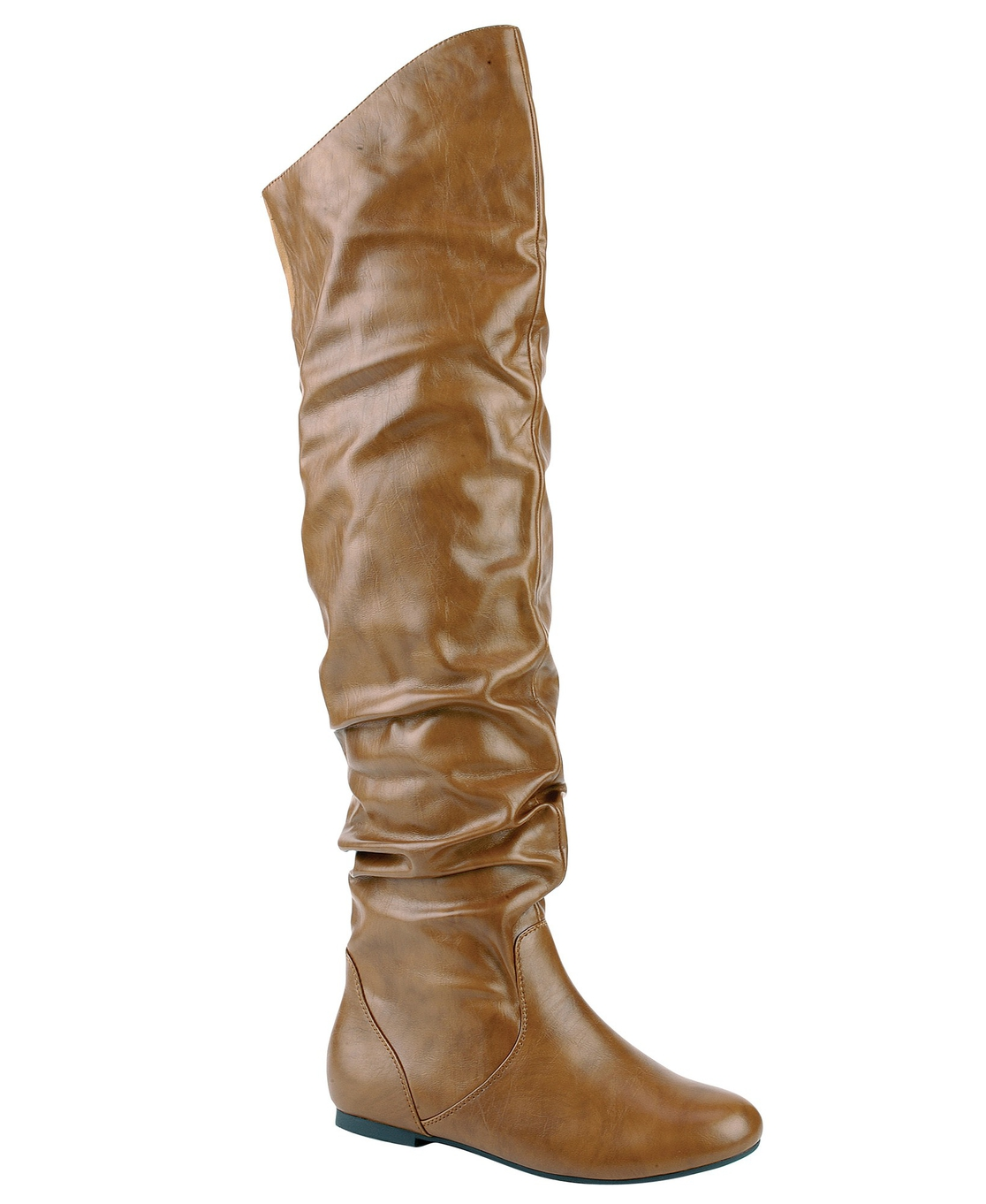 WOMEN SLOUCHY OVER THE KNEE BOOTS - orangeshine.com