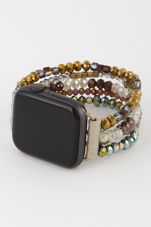 Handmade Style Beaded iWatch Band - orangeshine.com