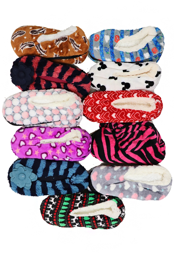 Fleece Slippers - orangeshine.com