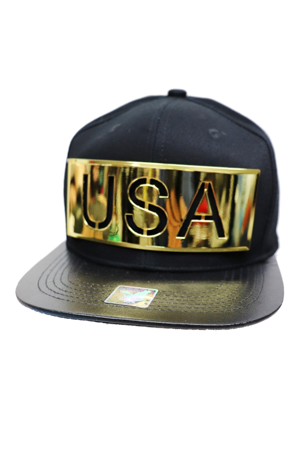 Gold Plate Snap Back - orangeshine.com