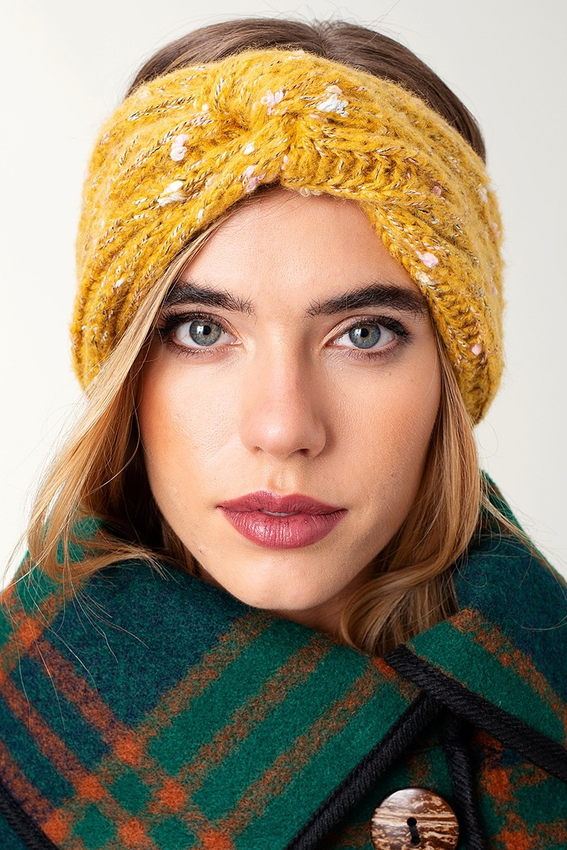Knit Turban Head Wrap - orangeshine.com