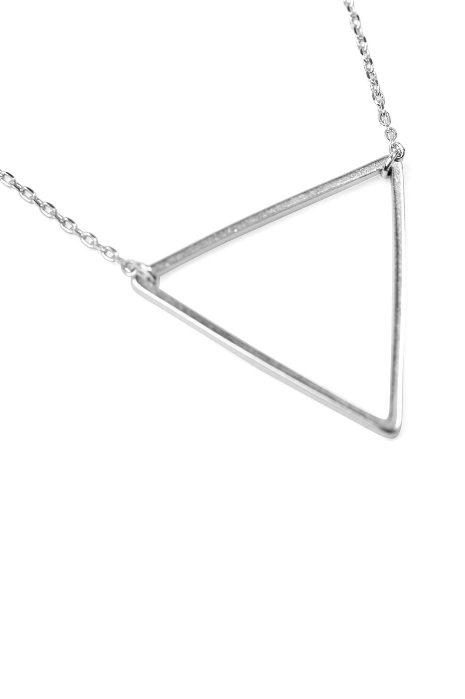 TRIANGULAR PENDANT NECKLACE - orangeshine.com