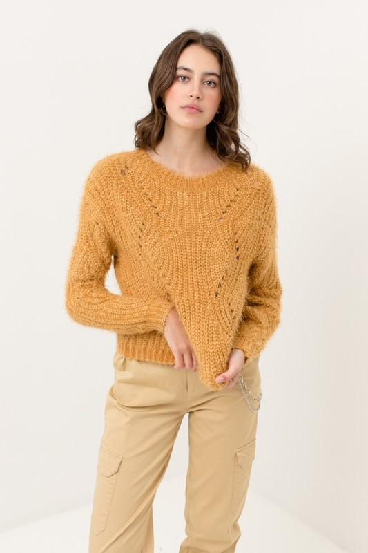 Soft cozy sweater - orangeshine.com