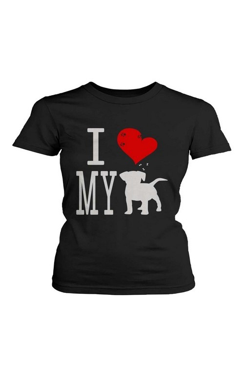 JCT045 I Love My Dog T-Shirt - orangeshine.com