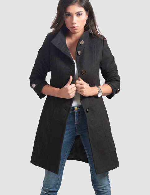 Womens Plus Size Overcoat - orangeshine.com