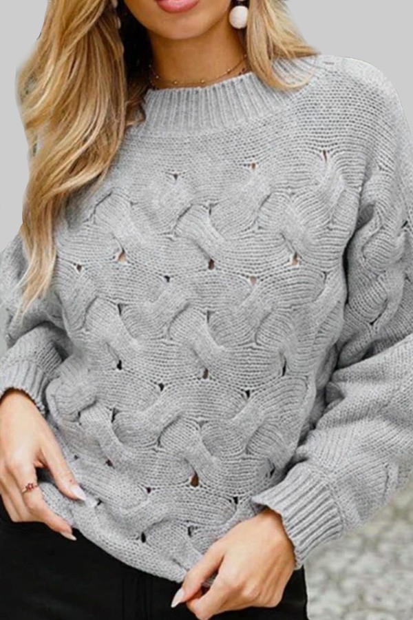 ROUND NECK SWEATER - orangeshine.com