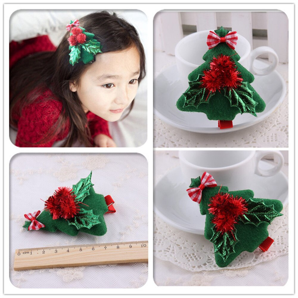 20PC Christmas Tree hair clips - orangeshine.com