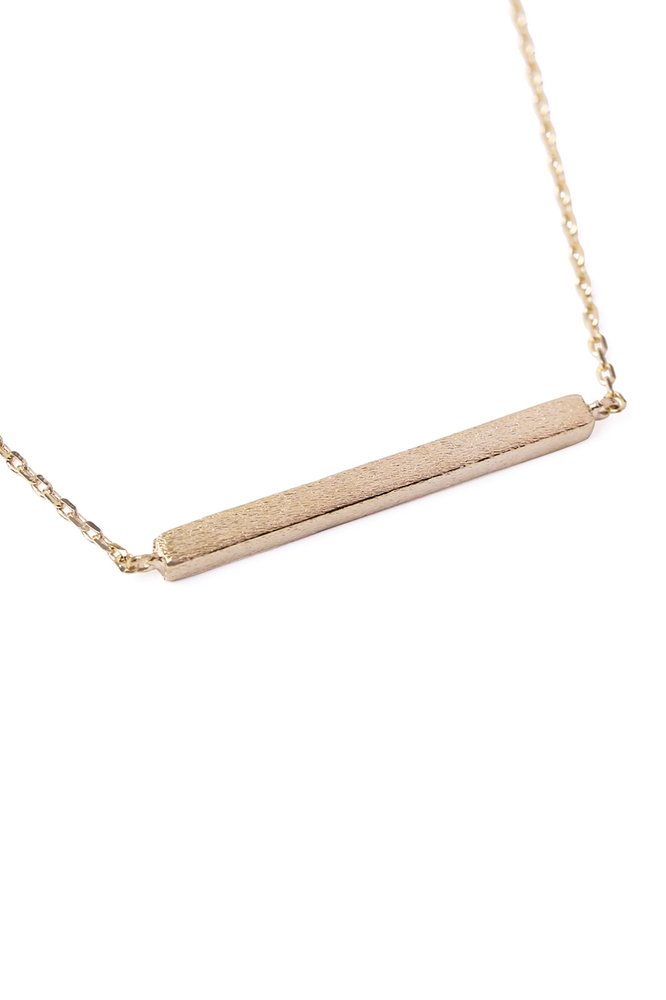 BAR PENDANT NECKLACE - orangeshine.com