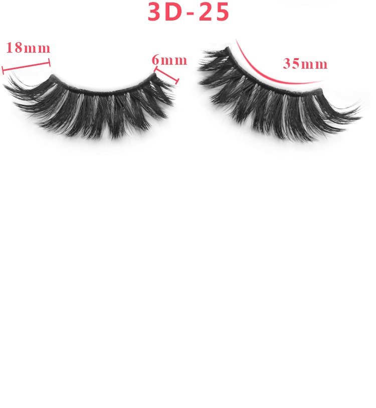 3D immitation mink eyelashes - orangeshine.com