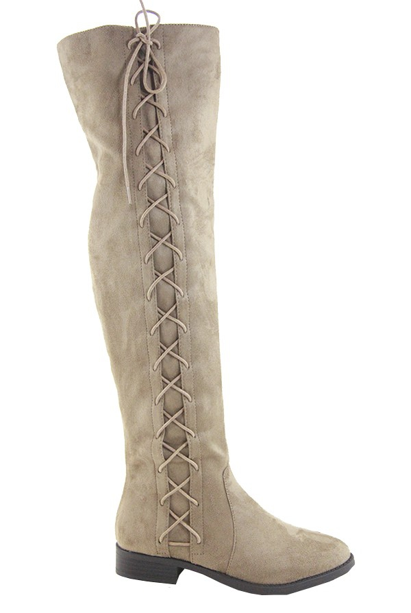 LADIES OVER THE KNEE HIGH BOOTS  - orangeshine.com