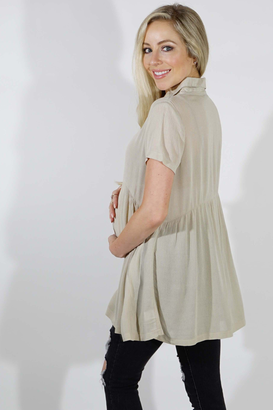 Maternity Tunic - orangeshine.com