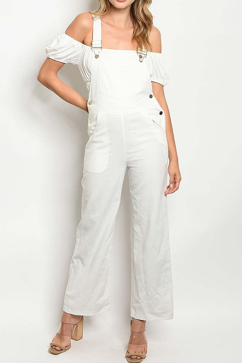 POCKET DETAIL OVERALL JUMPSUIT  - orangeshine.com