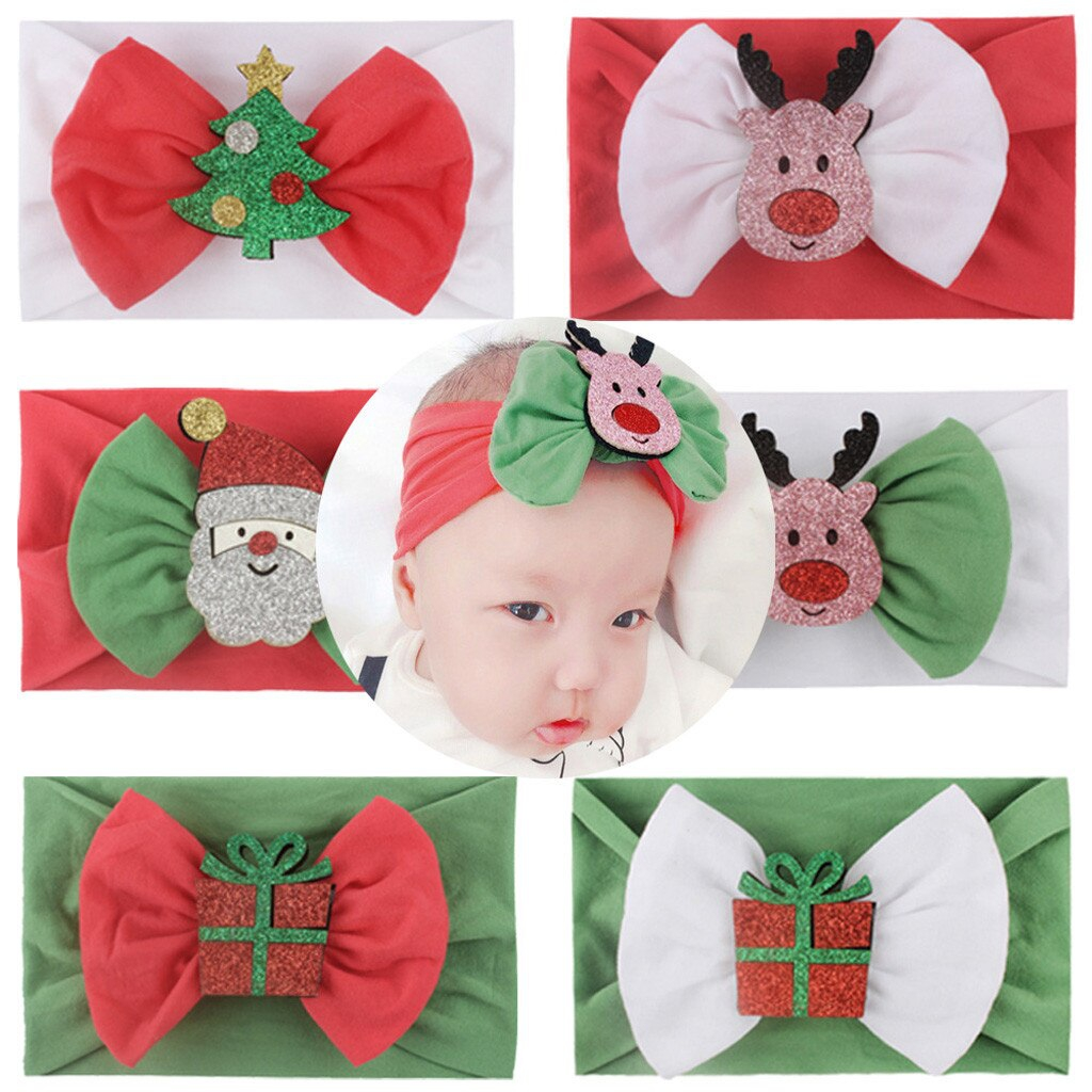 20PC Mix Christmas theme headbands - orangeshine.com