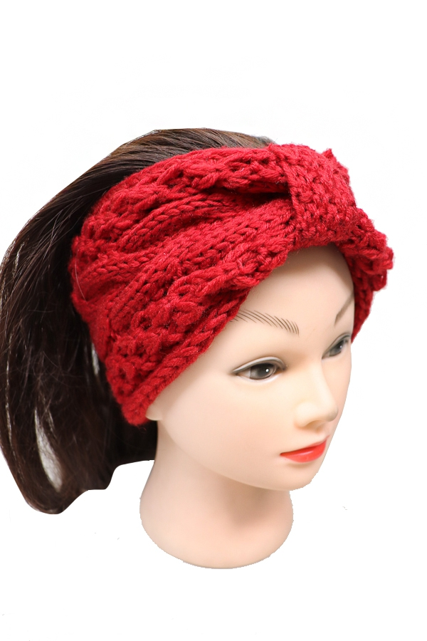 Knit Winter Head Bands - orangeshine.com