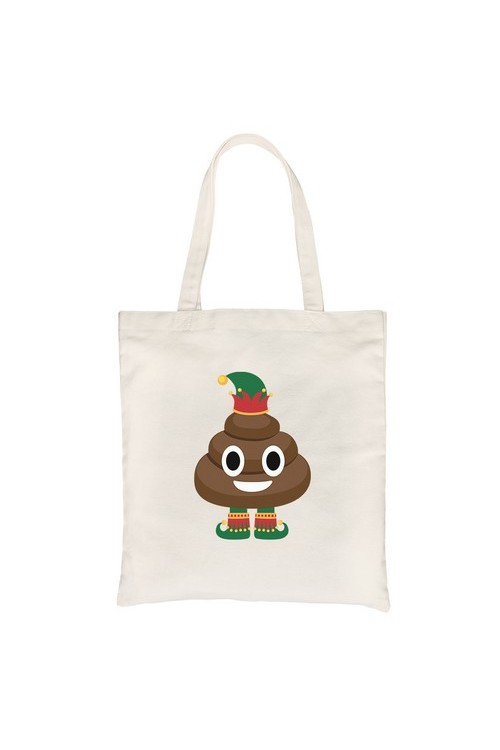 Poop Elf Canvas Bag - orangeshine.com