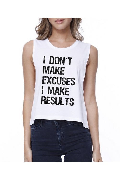 JCR317XX Excuses Results Croptop - orangeshine.com