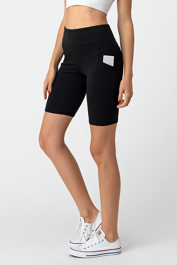 ACTIVE CUT BIKER SHORTS - orangeshine.com