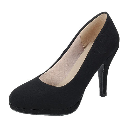 LADIES CONEHEEL PLATFORM PUMPS  - orangeshine.com