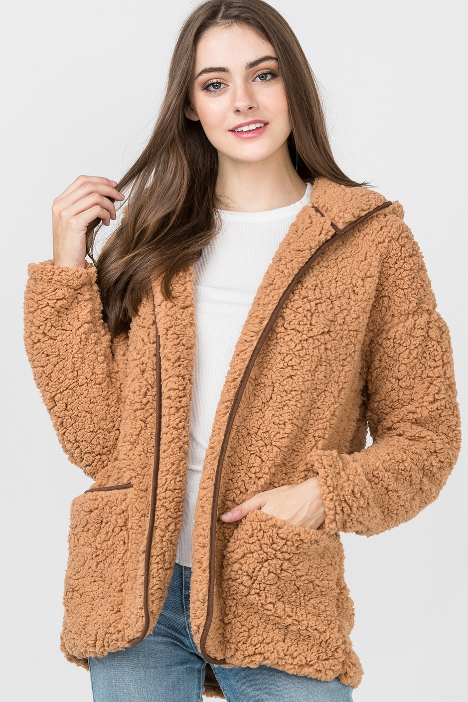 COZY FLEECE JACKET - orangeshine.com