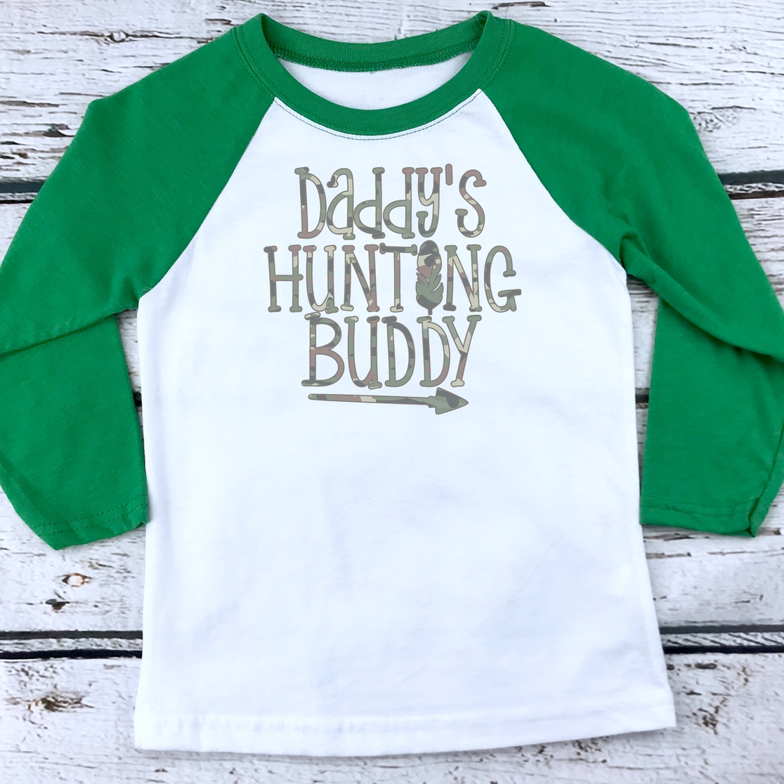 YOUTH Daddys Hunting Buddy - orangeshine.com