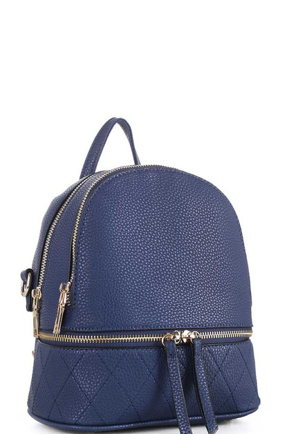 CUTE STYLISH STITCHED BACKPACK - orangeshine.com