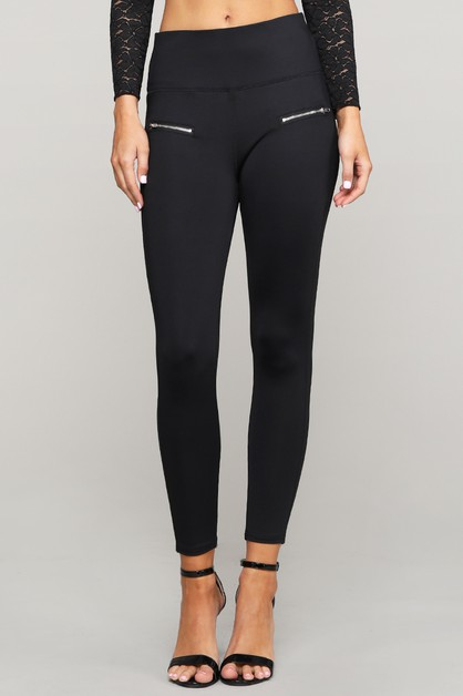SIDE MESH SEE THRU DETAIL LEGGING - orangeshine.com