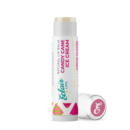 Candy Cane Christmas Lip Balm - orangeshine.com