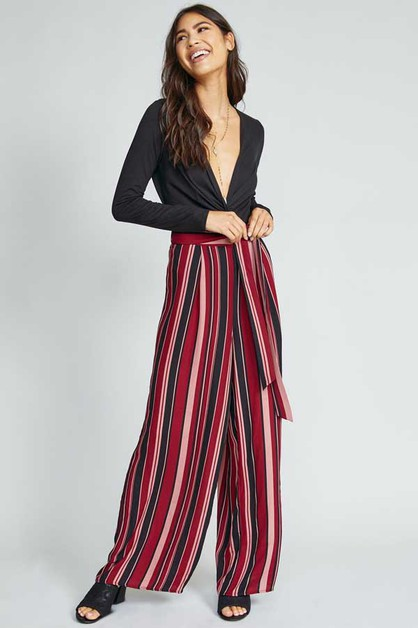 WILD WAYS STRIPE PANT - orangeshine.com