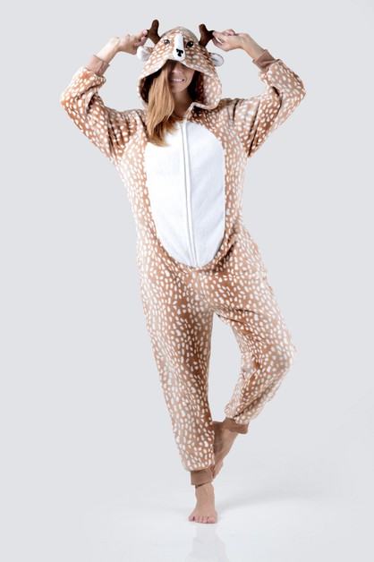 Spotted Reindeer Animal Onesie - orangeshine.com