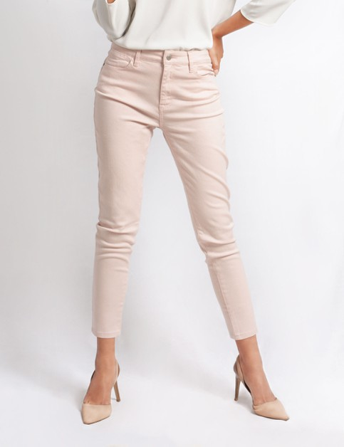Womens Stretch Denim Ankle Pants - orangeshine.com