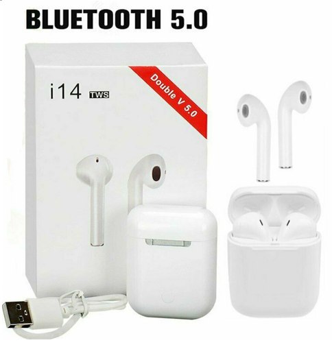 i14 TWS Bluetooth  Earphone  - orangeshine.com