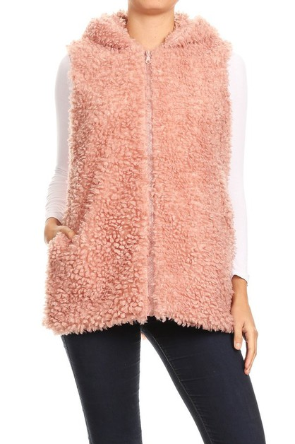 Thick Warm Plushed Fur Jackets Coats - orangeshine.com