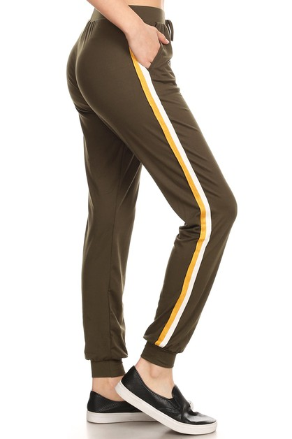 Solid Joggers Sweatpants Winter Soft - orangeshine.com