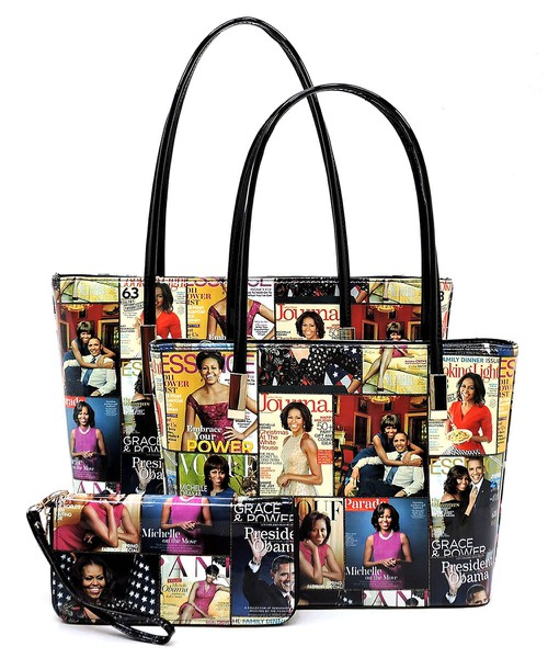 Magazine Cover Collage3-in-1 Tote Se - orangeshine.com