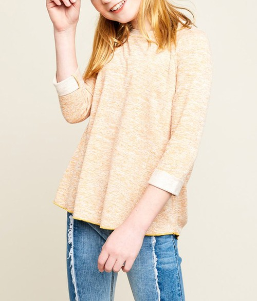 High Low Knit Top - orangeshine.com