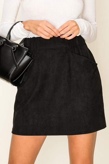 BAND WAIST SHORT SKIRTS - orangeshine.com