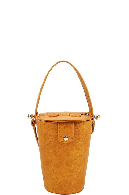 CUTE PAIL BUCKET SHAPE SHOULDER BAG - orangeshine.com